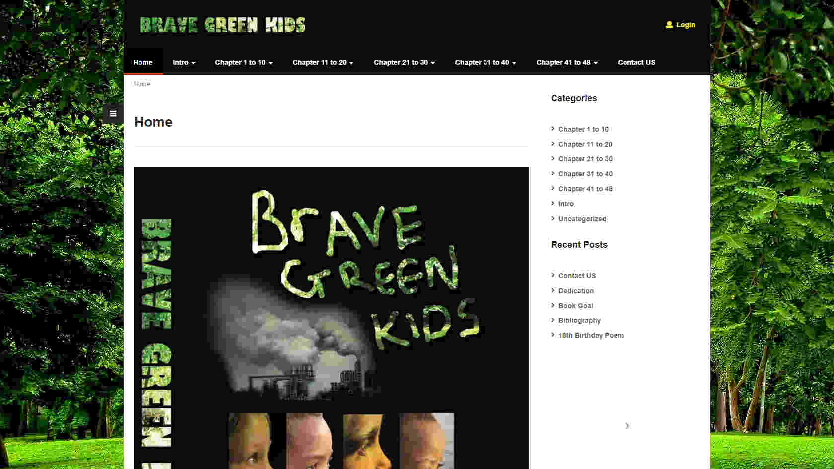 Brave Green World | Brave Green Kids
